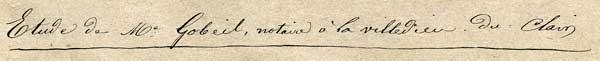 1800's Script