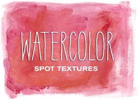 Watercolor Spot Textures