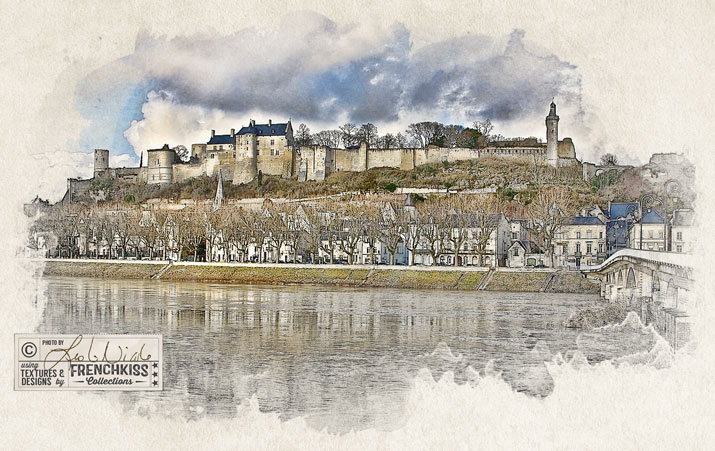 Chateau de Chinon by Leslie Nicole using Topaz Adjust