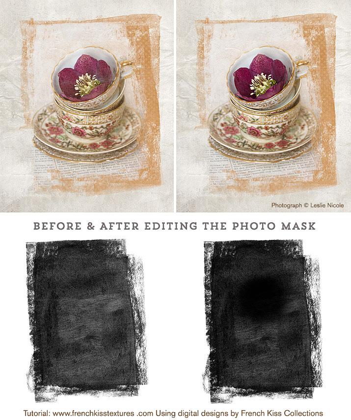 Photo mask edits