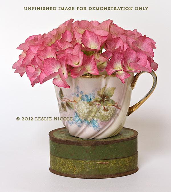 Cup Of Summer Original Leslie Nicole