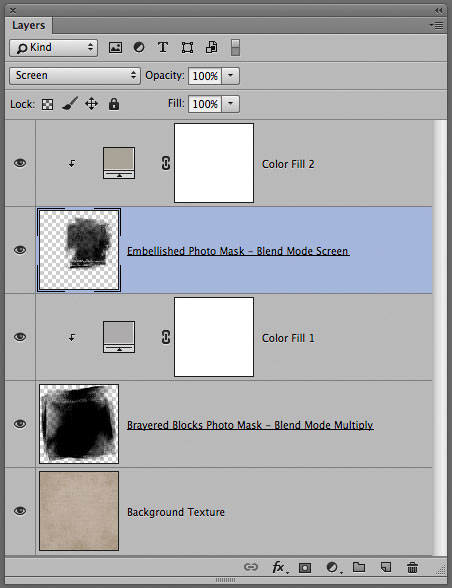 Layer Panel design background