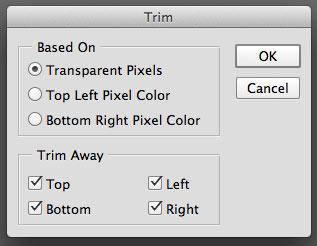 Trim Transparent Pixels