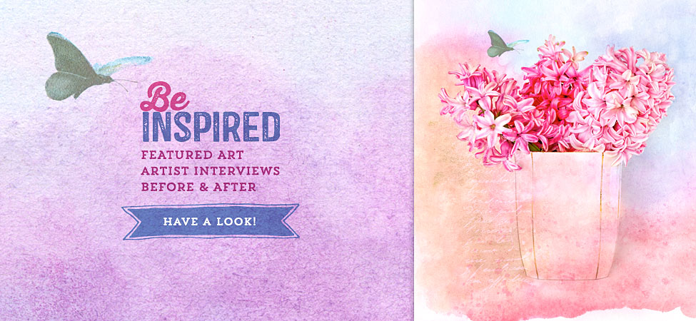 Be Inspired by featured art