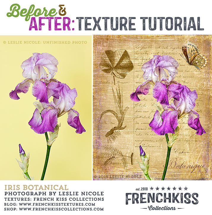 Before and After texture tutorial